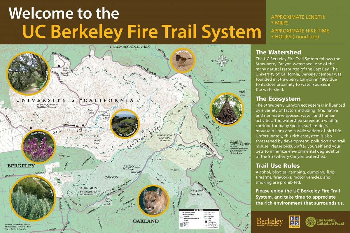 Welcome to the UC Berkeley Fire Trail System